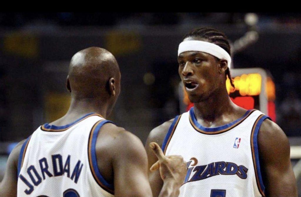 Kwame Brown NBA Michael Jordan Wizards