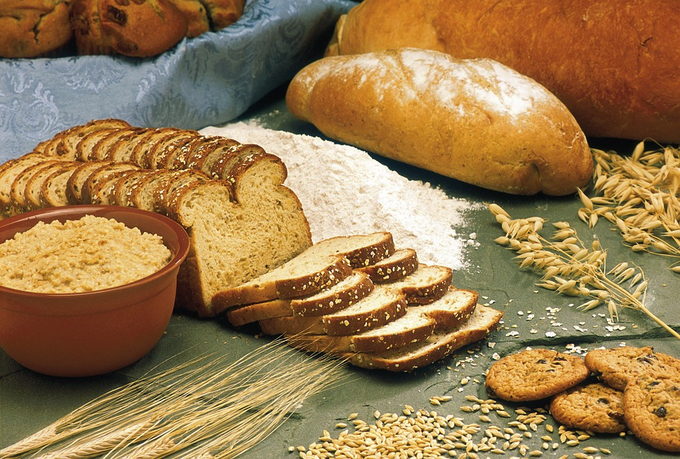 Bread, Whole-Grain, Wheat,