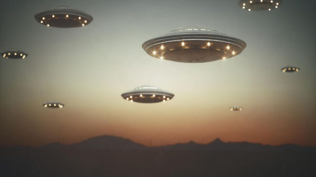 UFO Alien Project Blue Beam Invasion Area 51