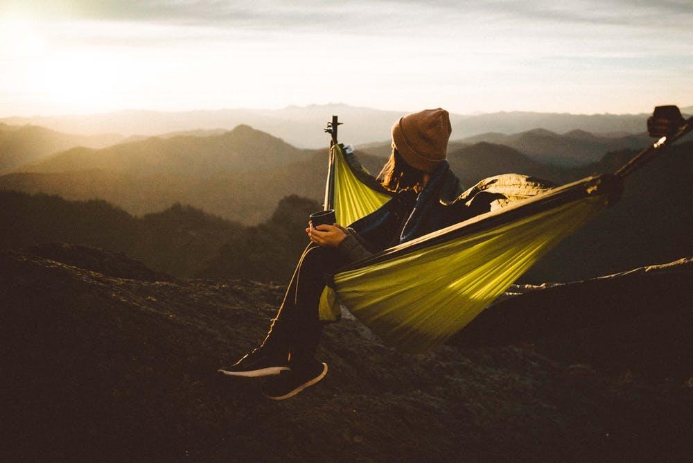 Sunset Hypnosis Relaxation Hammock