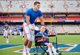Tim Tebow Charity Role Model Wheelchair Football