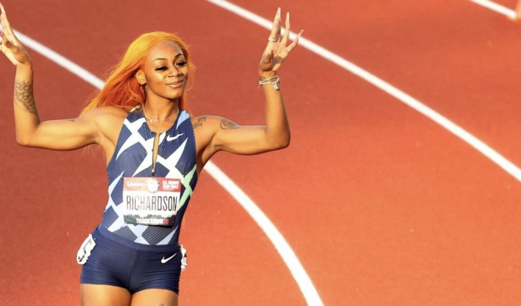 Sha'Carri Richardson Drugs Olympics Tokyo Marijuana